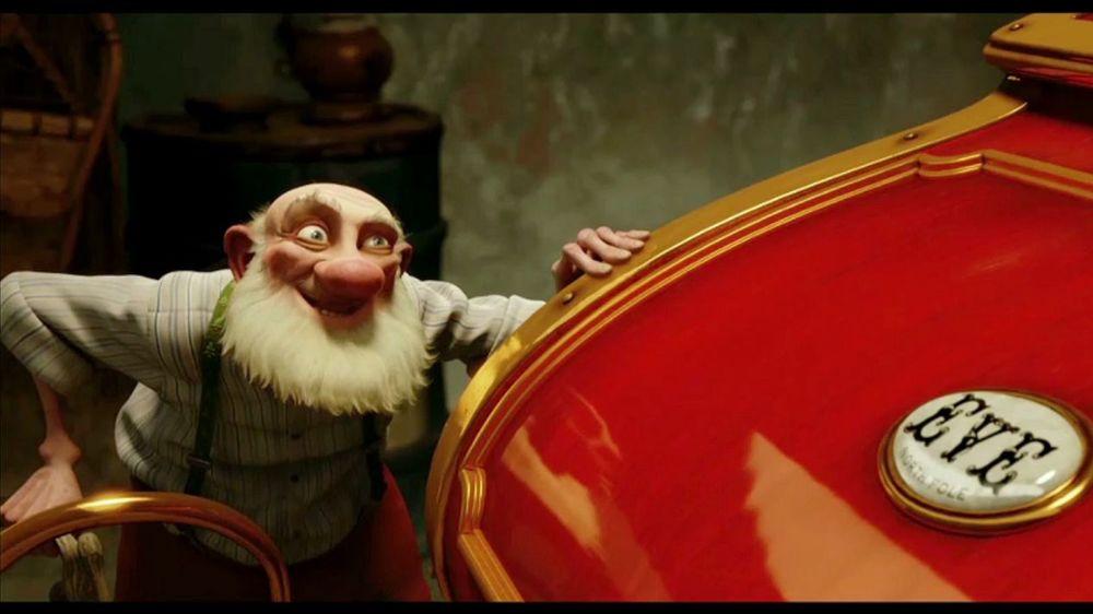 Arthur Christmas Santa.Santa S Sleigh In Arthur Christmas Cultjer