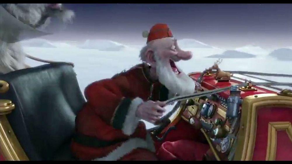Arthur Christmas Santa.Riding Santa S Sleigh Through The Air In Arthur Christmas