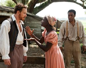 Woman begs Michael Fassbender in 12 Years A Slave