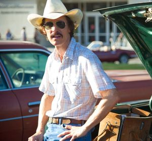 Matthew McConaughey is Texas electrician Ron Woodroof
