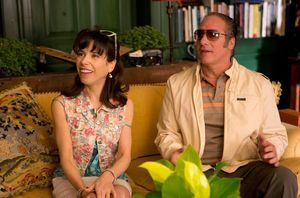 Andrew Dice Clay and Sally Hawkins
