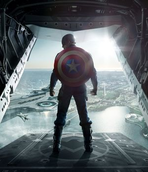 Chris Evans' back in Captain America: The Winter Soldier
