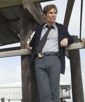 Matthew McConaughey in HBO's True Detective