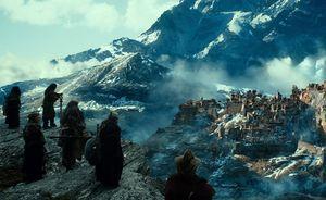 The dwarfs enjoy the view