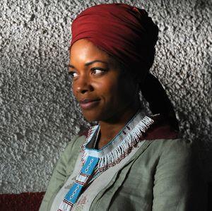 Skyfall star Naomie Harris as Winnie Mandela