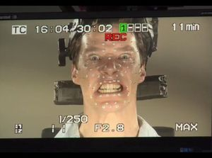 Benedict Cumberbatch performance capture as the Smaug