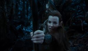 Tauriel in action!