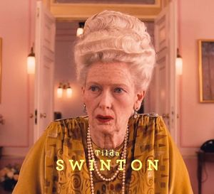 Look at that! Tilda Swinton in The Grand Budapest Hotel