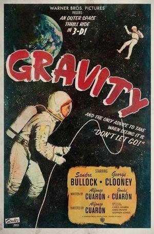 Gravity vintage poster