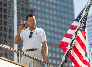 The Wolf of Wall Street on a boat