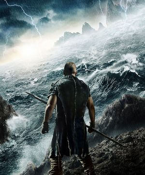 The apocalypse is coming in Noah, poster art