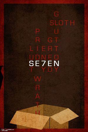 Minimal Poster: Se7en