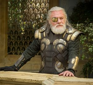 Anthony Hopkins as Odin, goldeneye