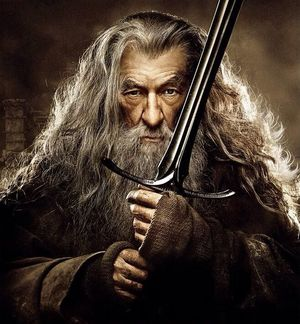 Gandalf and sword