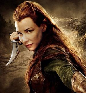 Tauriel knife action