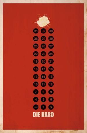 Minimal Poster: Die Hard