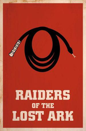 Minimal Poster: Raiders Of The Lost Ark