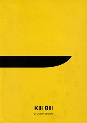 Minimal Poster: Kill Bill