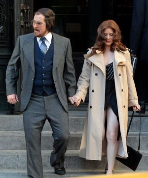 Amy Adams and Christian Bale go out in American Hustle