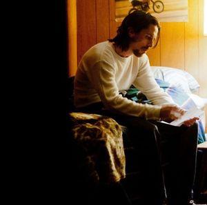 Christian Bale reading letter