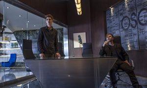 Peter Parker & Harry Osborn in the office