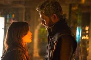Kitty Pryde and Iceman share a moment