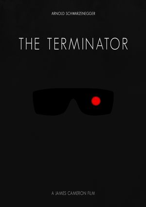 Minimal Poster: The Terminator