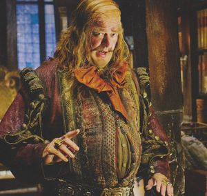 Stephen Fry as the Master Of Laketown