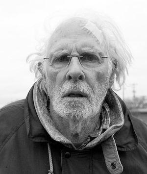 Close-up of Bruce Dern as Woody Grant