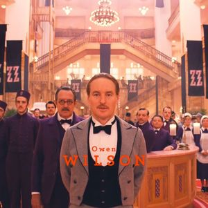 Owen Wilson in The Grand Budapest Hotel