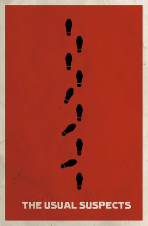 Minimal Poster: The Usual Suspects