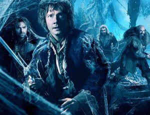 The Hobbit Part 2 in blue