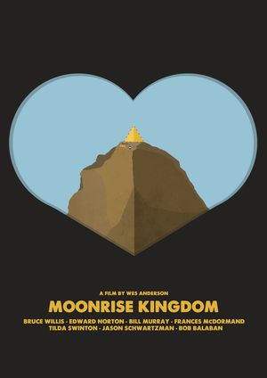 Minimal Poster: Moonrise Kingdom