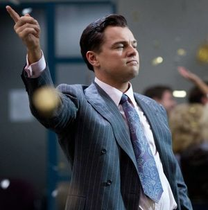DiCaprio's wise finger