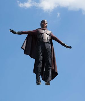 Flying around in X-Men: Days of Future Past
