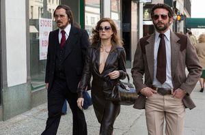 Bradley Cooper & Christian Bale are cool men walking!