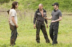 Scott Cooper directs Christian Bale & Woody Harrelson
