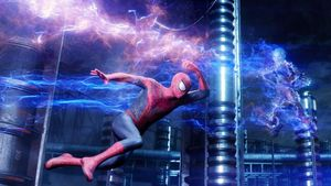 Spider-Man and Electro in battle!
