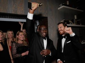12 Years A Slave Celebrate Golden Globe Wins at FOX's After
