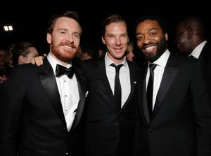 Michael Fassbender, Benedict Cumberbatch and Chiwetel Ejiofo
