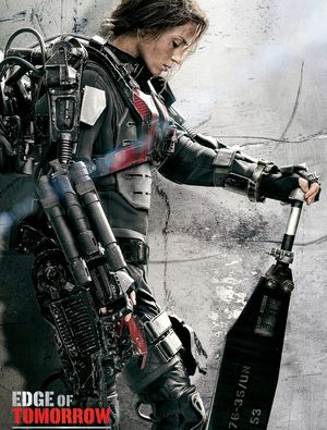 Emily Blunt character poster, Edge Of Tomorrow