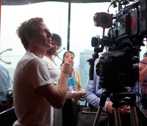 Spike Jonze directing Her