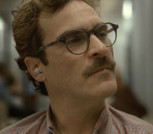 Joaquin Phoenix listens to his fascinating new OS, Samantha