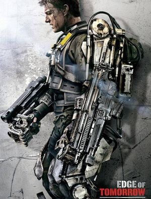 Tom Cruise character poster, Edge Of Tomorrow