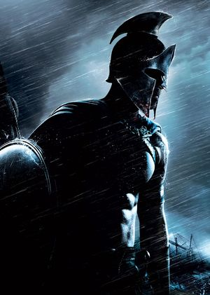 Black armor in 300: Rise of an Empire