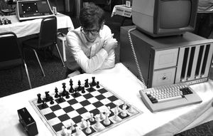 Patrick Riester as Peter Bishton in Computer Chess