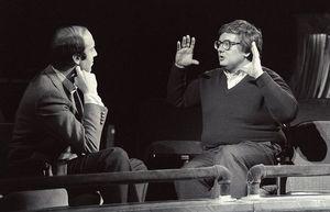Gene Siskel and Roger Ebert talk about cinema