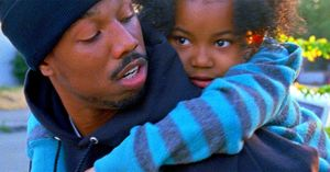 Oscar Grant and his daughter in Fruitvale Station