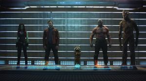 Guardians Of The Galaxy line-up