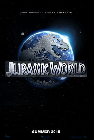 Teaser poster for Jurassic World, set for release in 2015